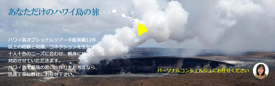 ハワイ島 キラウエア火山 オプショナルツアー