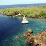 ハワイ島ケアラケクア湾 シュノーケリング アフタヌーンスナック
